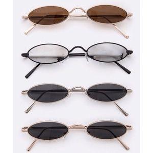 Accessories - Tiny Oval Sunglasses